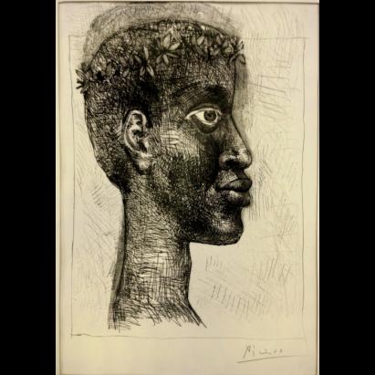 pablo-picasso-negre-negre-negre-portrait-d-aime-cesaire