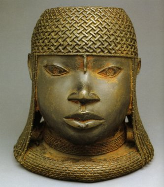 087[amolenuvolette.it]1501-1525 Tête du bénin , Nigeria, Bronze